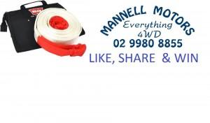 4wd Tv – Mannell Motors – Win Snatch Strap & Bag