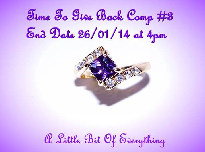 A Little Bit Of Everything – Win 10k Yellow Gold Filled Amethyst Ring