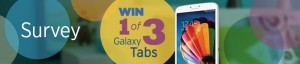 "ABC / Ramp Up – Win 1 of 3 Samsung Galaxy Tab 3 8"" 16GB Wifi"