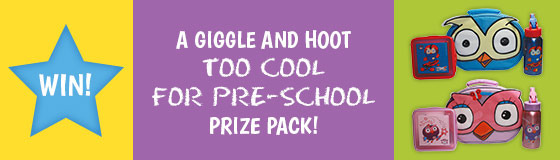 ABC Shop – Win a Giggle and Hoot Too Cool For Preschool prize pack