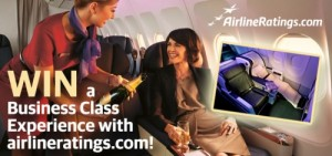 Airline Ratings – Win a Business Class trip for two with Virgin Australia