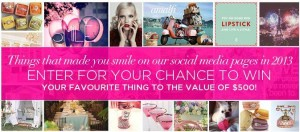 Alannah Hill – Win $500 of Your Favourite Things That Made You Smile
