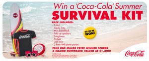 AMF Bowling Centres Australia – Win A Coca-Cola Summer Survival Kit and Malibu Surfboard Valued At $1,300
