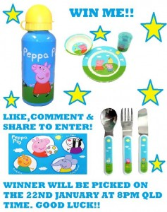 Amy's Awesome Bargain's  – Win Peppa Pig Dinner Pack