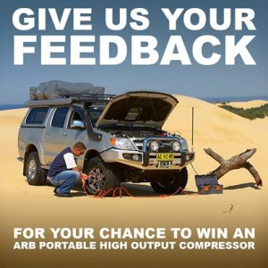 ARB 4×4 Accessories – Win an ARB high output portable compressor
