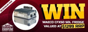Australian 4WD Action – Win A 50L Waeco Fridge From 4WD Supacenter Valued At $1299 Giveaway