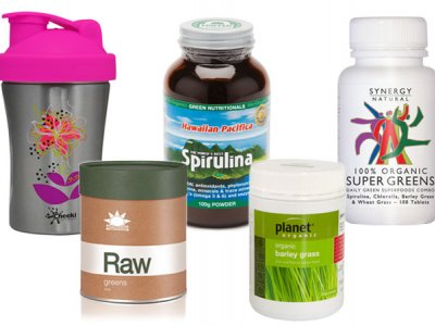 Australian Natural Health Magazine – 25 WOL Green Detox Giveaway – 45 prizes to give away