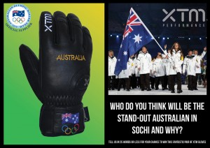 Australian Olympic Team – Win a pair of XTM Gloves