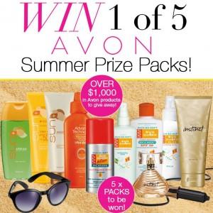 Avon – Win 1 of 5 x Avon Summer prize packs valued over $1,000