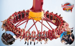 B105 – Win Two x adult one day passes to Dreamworld Thrill Rides, valid until 3 December 2014