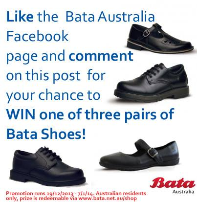 Bata Shoes – Win A Pair of Shoes