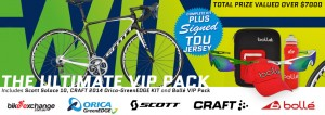BikeExchange.com.au – Win Ultimate VIP Pack Includes Scott Solace 10, CRAFT 2014 ORICA-GreenEDGE KIT and Bolle VIP