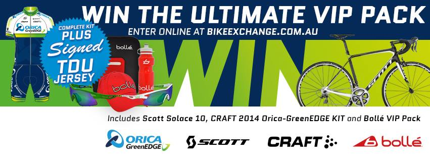 Bike Exchange – Win the Ultimate VIP Pack