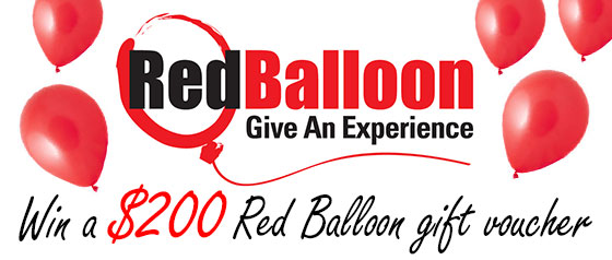 Bosisto's – Win a $200 voucher from Red Balloon