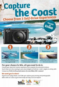 Britz Campervans – Win a $5K holiday (Win A Trip To WA Coastal plus A Nikon AW-1 Camera)