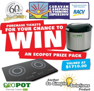 Caravan, Camping & Touring Supershow (VIC) – Win An Ecopot Package valued at $1710