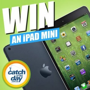 CatchOfTheDay – Win an iPad Mini Facebook Giveaway