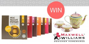 Charlies Cookies – Share A Mini Moment With Us and win cookies and a tea set