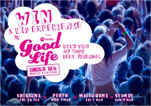 Clearasil Australia – Win a VIP Experience at Good Life Music Festival – Photo Competition
