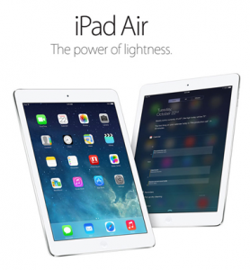 Crazy Sales – Subscribe To win an iPad Air