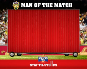 Cricket Australia – Man of the Match – Win $5000
