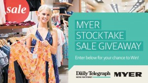 Daily Telegraph – Herald Sun – NSW win 1 of 5 $500 Women's Fashion Packs from Myer & VIC win 1 of 5 Nespresso u/Milk appliances, valued at $299 each