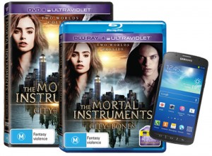 Girlfriend –  Win a Samsung Galaxy S4 Phone and Mortal Instruments prize pack
