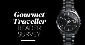 Gourmet Traveller Reader Survey – Win Rado Hyperchrome Watch