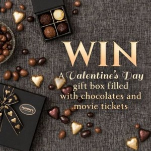 Haigh's Chocolates – Win 1 of 3 gift boxes for Valentine's Day rang and a double pass to see Endless Love