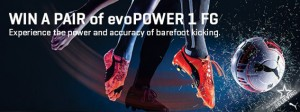 Inside Sport magazine – Win 1/5 $220 PUMA evoPOWER1 football boots