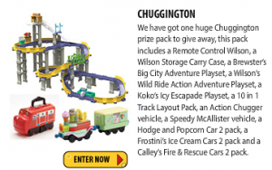 Just Kidding Junior – Win a Chuggington prize pack (Ages 3-6)