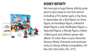 Just Kidding – Win a Disney Infinity pack (Ages 7-13)