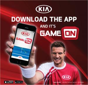 Kia Australia – Win a Cerato Koup Turbo – Australian Open Game On Competition