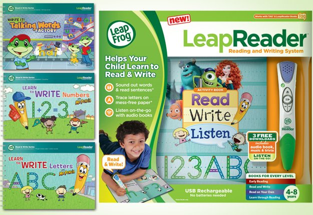 Cheap LeapFrog LeapReader Book Disney Pixar Brave Works With Tag Join Merida on an incredible adventure and discover the meaning of true bravery! audio responses and activities in this interactive book engage readers and reinforce learning.