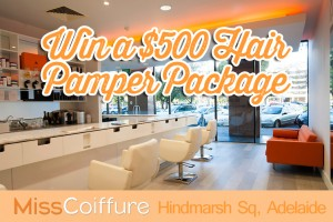 Mum Central – Win $500 Voucher to the Luxurious Miss Coiffure Salon in Adelaide