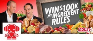 Nova FM – Win $100,000 My Ingredient Rules Competition