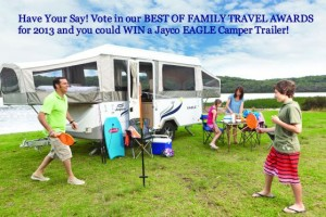 Out & About with Kids – WIN a JAYCO EAGLE CAMPER TRAILER