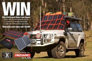 Pat Callinan's 4×4 Adventures – WIN one of three REDARC solar panel kits