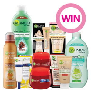 Priceline – Win 1 of 10 amazing Garnier Skincare prize packs, valued at over $125 each