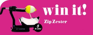 Taste.com.au – Win 1 of 5 Zip Zesters Giveaway
