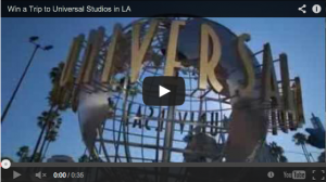 Universal Channel – Win A Trip To Los Angeles For Two, Instant Win Prize Packs Daily (must have pay tv)