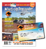 WHATS UP DOWNUNDER – WIN a 1 year WUDU Mag subscription + 1 year subscription WUDU Travel Saver Card