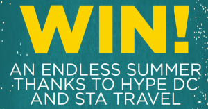 Win a trip to California – Need to sign to newsletter – Hype DC and STA travel Competition