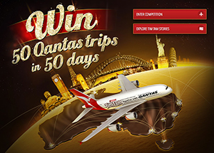 Arnotts Tim Tam – Win 50 trips in 50 days