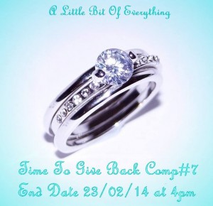 A little Bit of Everything – Win a Stunning 10K White Gold Filled White Sapphire Ring size P