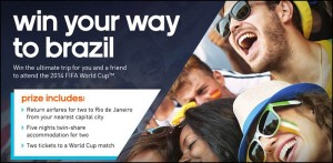 Adidas Football Boots – Win a $20,000 trip to the Brazil World Cup