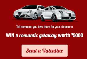 Alfa Romeo – Win a trip to Qualia Hamilton Island for 2 people
