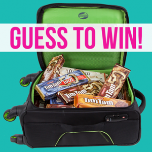 American Tourister – WIN a Applite case filled with TimTams