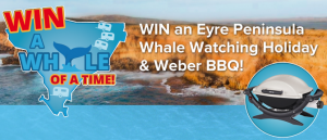 Aust Caravan Co – Win an Eyre peninsula getaway & baby weber BBQ