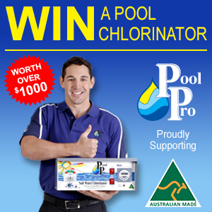 Australian Made – Win a Pool Pro Chlorinator Worth Over $1,000